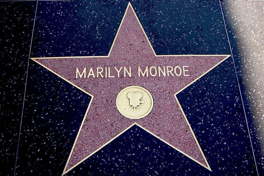 Marilyn Monroe walking tour